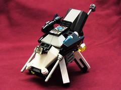 Mecha Destroyer (ltpl4y3r) Tags: tank lego walker micro mecha mech multiped microscale