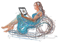 iPad Woman: The wired and wireless future of media and infotainment