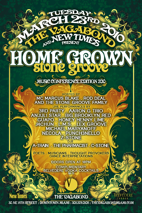 NEW TIMES x STONE GROOVE ;;PRESENT:: HOME GROWN