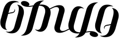 """Fidulo"" Ambigram"