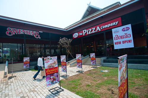 The new Swensens and Pizza Company, Vientiane, Laos