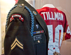 Patrick Daniel Tillman - Killed in Action (Paul Broderick) Tags: afghanistan army football ranger nfl tillman veterans usarmy newenglandpatriots killedinaction patriotplace patrickdtillman patriothalloffame wwiimemorialandthenfl