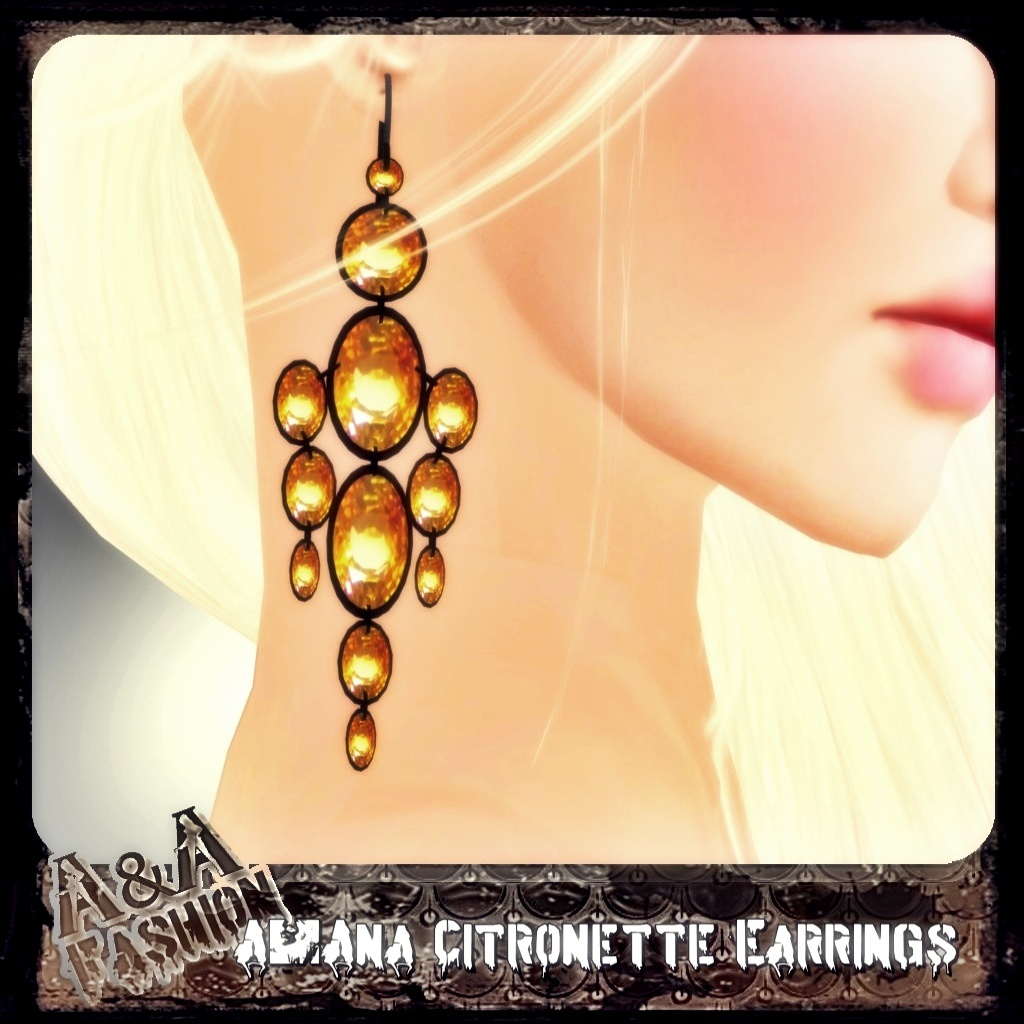 A&Ana Citronette Earrings