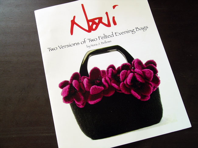 Noni Bag Two Versions of Two Felted Evening bags