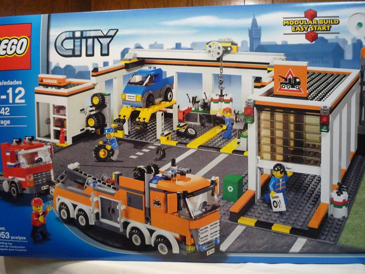 Review 7642 Garage Lego Town Eurobricks Forums