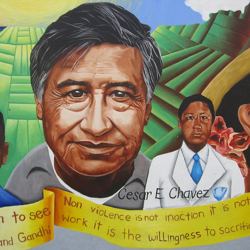 happy Cesar Chavez Day! (Dr. Martin Luther Kin...