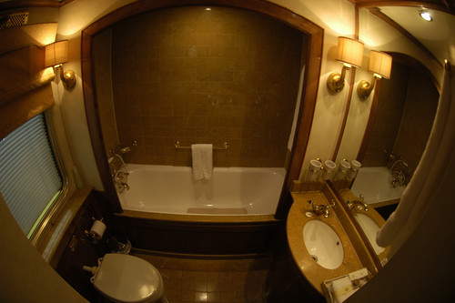 Blue Train (South Africa) - Bathroom