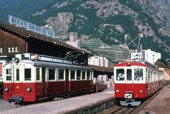 Trains to Chamonix