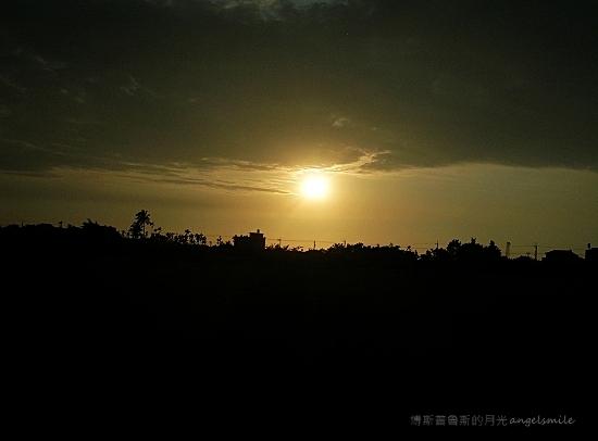 公路夕照 (台南鹽水)