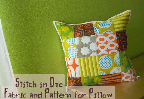A Stitch in Dye Fabric and Pattern