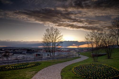 Nordhausen Petersbarg mit bedrohlichen Wolken - Joerg Esser Fotografie