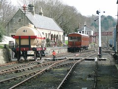 Rowley Station, Beamish Museum (Terry Pinnegar Photography) Tags: museum carriage victorian railway beamish tanker countydurham rollingstock northeasternrailway greateasternrailway londonnortheasternrailway consettironcompany