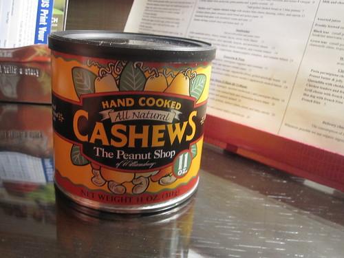 minibar cashews - $12