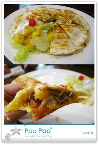 Hawaii51夏威夷51-綜合起司焗烤薄餅