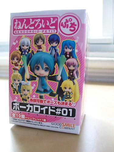 Vocaloid nendoroid petit