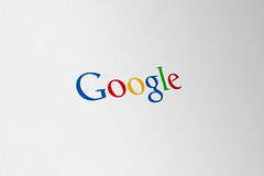 Google 'Updated' Concept Logo - flat colour mo...