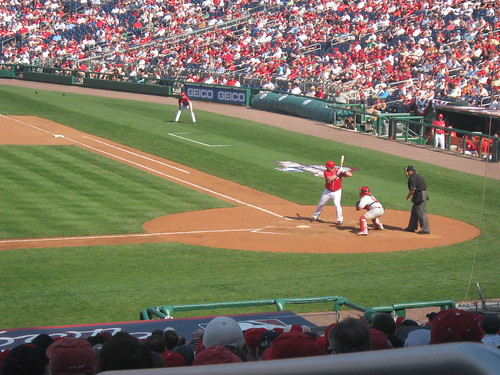 Philadelphia Phillies at Washington Nationals 5 April 2010