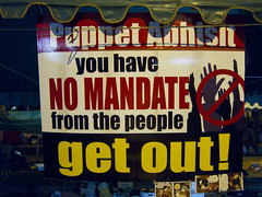 Red signes, posters (Kapscha) Tags: thailand bangkok udd