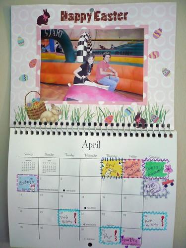 Calendar - April