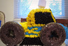 Luke's 4th birthday (lisa ♥ jonze) Tags: birthday cake march 4th shattered monstertruck 2010