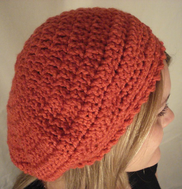 Slouchy Beret Crochet Pattern | Red Heart