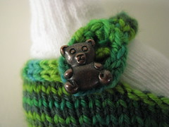 Teddy Bear Button