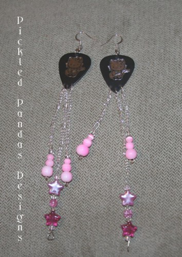 hello kitty rock star earrings