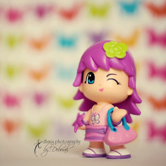Hello! My name is MISS PINYPON (dhmig) Tags: colors closeup fun toy 50mm nikon purple bokeh violet nikond50 pinypon littledoll beyondbokeh dhmig