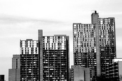 70's Style Apartment - B&W