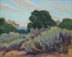 In the Arroyo Chamisso - 8 x 10""