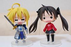 Heavy... (Chi (in Oz)) Tags: cosplay fate gsc  izumi kagami  luckystar  konata goodsmile hiiragi  nendoroid