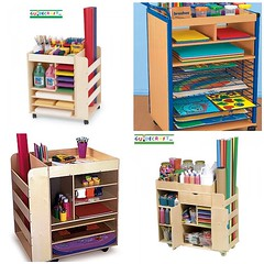 Art Carts (Heath & the B.L.T. boys) Tags: art crafts homeschool kidsroom organize playroom casters