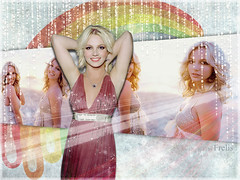 Britney (Wallpapers) (Frelis) Tags: rainbow spears wallpapers britney frelis
