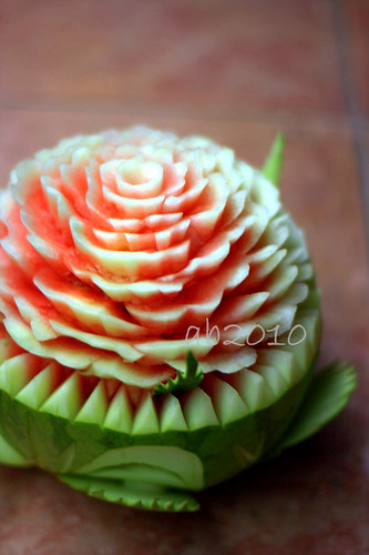 fruit carving-watermelon by ab2010