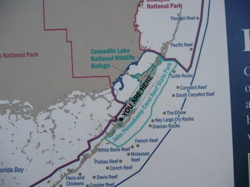 map of key largo.