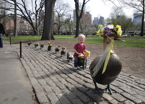 Make Way for Ducklings, Public Garden
