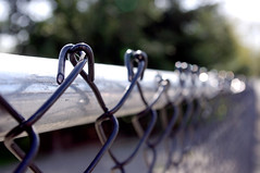 Chain Light Fence (ruthlesscrab) Tags: fence fencefriday
