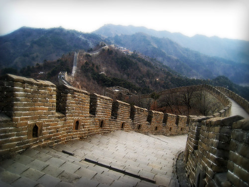 'A Sinuous Serpent', The Great Wall of China, Northern China