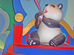 Panda (Elysia in Wonderland) Tags: world china park holiday paris france its panda disneyland small disney theme eurodisney parc elysia