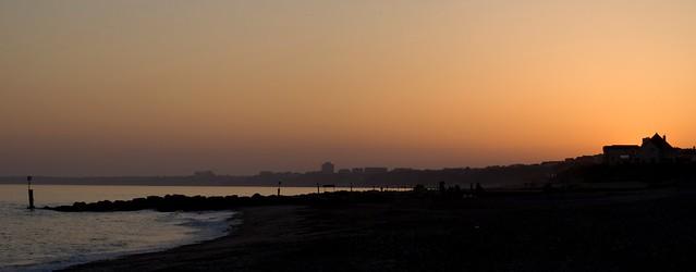 Sunset over Bournemouth