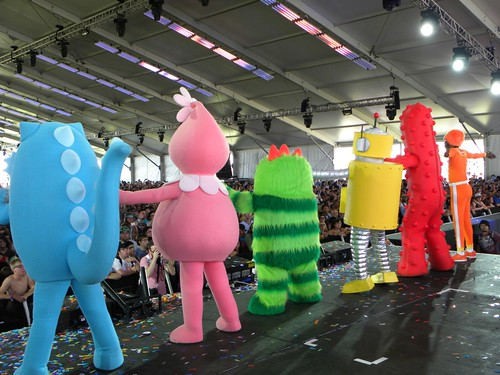 Yo Gabba Crew at Coachella