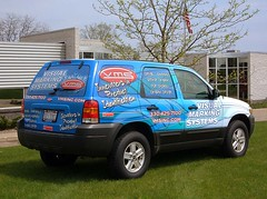 VMS Ford Escape vehicle wrap