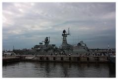 073 (AnkhaiStenn) Tags: show red sea sky water soldier grey star war ship russia military union navy wave deck international maritime captain soviet warrior russian frigate naval defence officer ussr imds leutenant