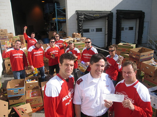 Burlington Salvation Army Food Bank April Volunteer Week 2010 005