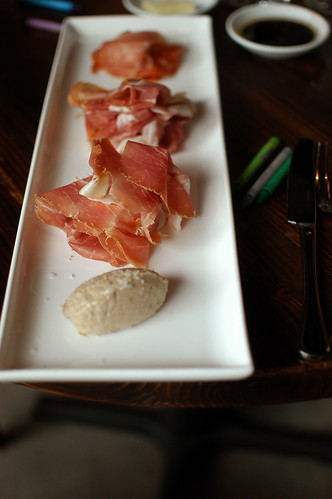 charcuterie plate at Mistral Kitchen