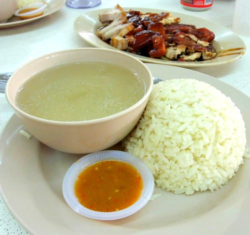 Chicken Rice, Soup and Chili