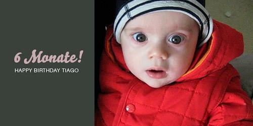 Tiago ist 6 Monate alt