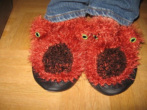 Monster-Socken