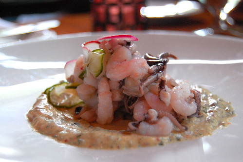 Shrimp & Octopus Appetizer
