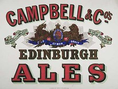 Poster for Campbell & Co's Edinburgh ales London(nls uk)